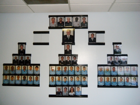 Police Department Wall of Fame